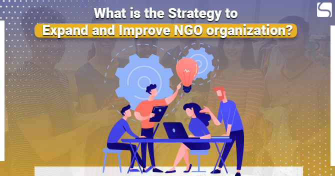 What is the Strategy to Expand and Improve NGO organization?