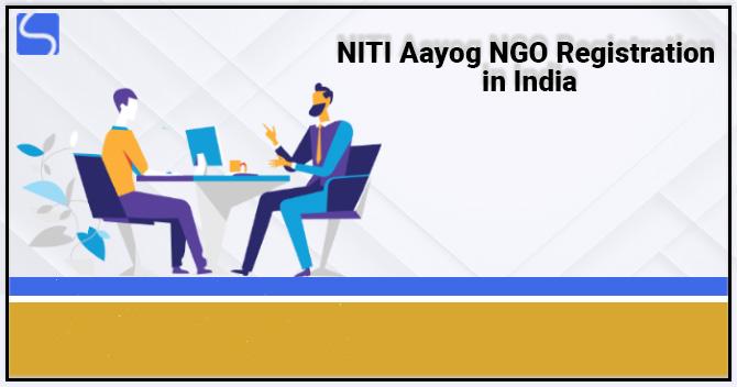 NITI Aayog NGO Registration