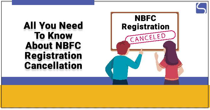 NBFC Registration Cancellation