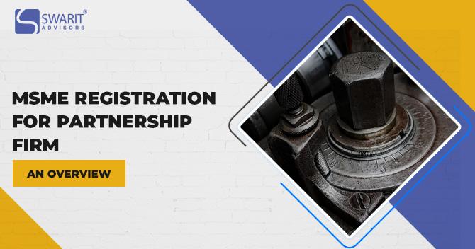 MSME Registration for Partnership Firm