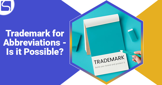 Trademark for Abbreviations - Is it Possible