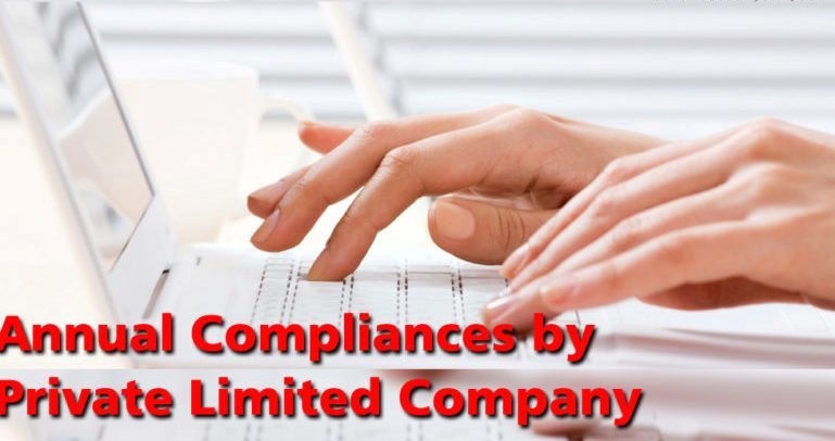 Annual Compliance Required for Private Limited Company