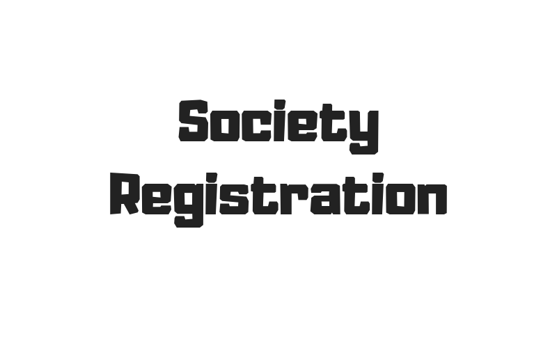 How Society Registration is Important