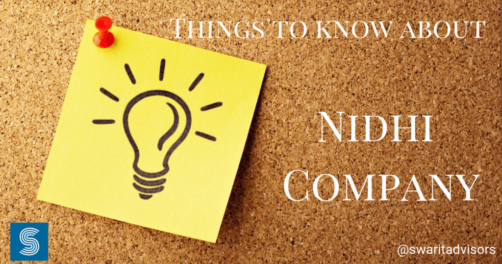 Things to know about Latest Updates on NIDHI Company