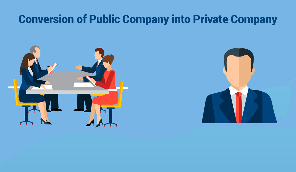 MCA's latest update: Conversion of Public Company into Private Company