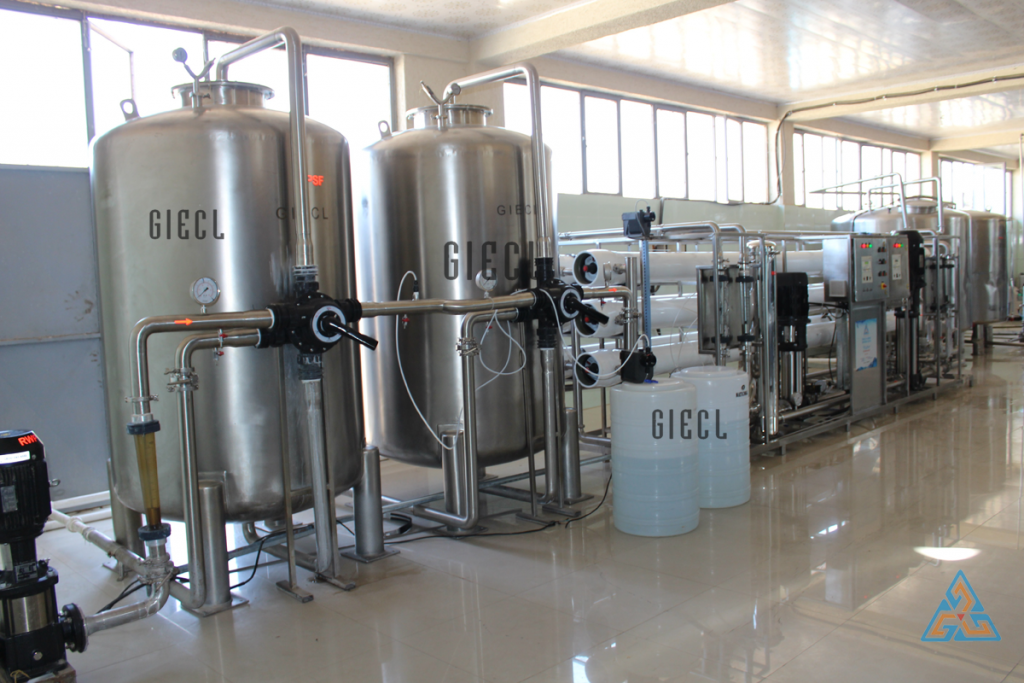 set up a Mineral Water Plant