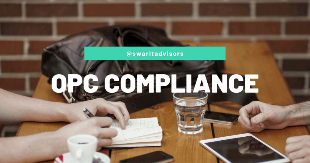 OPC Compliance checklists