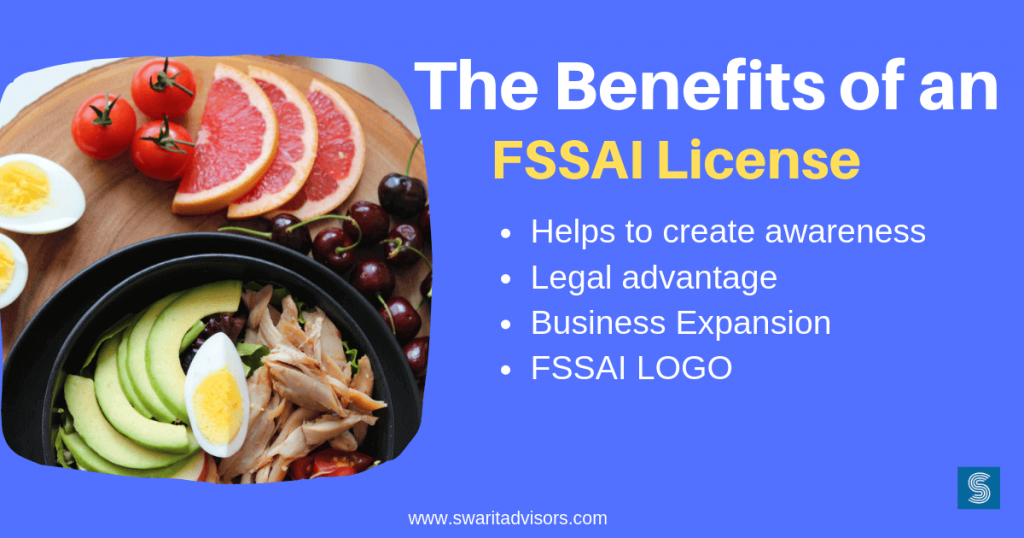 benefits of fssai license