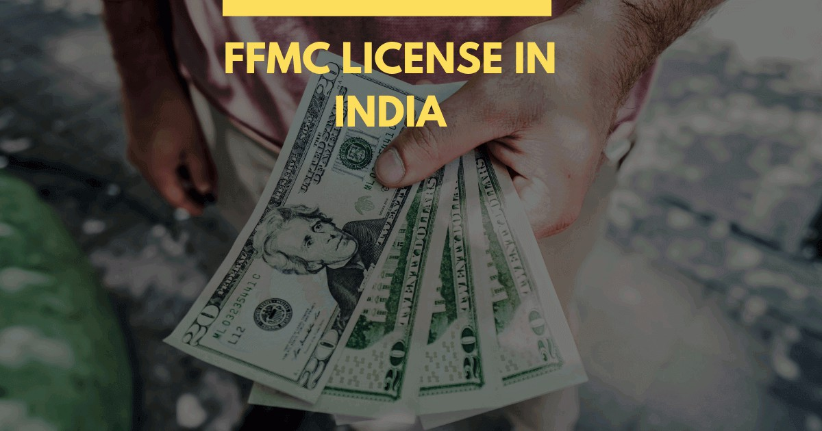 FFMC license in India