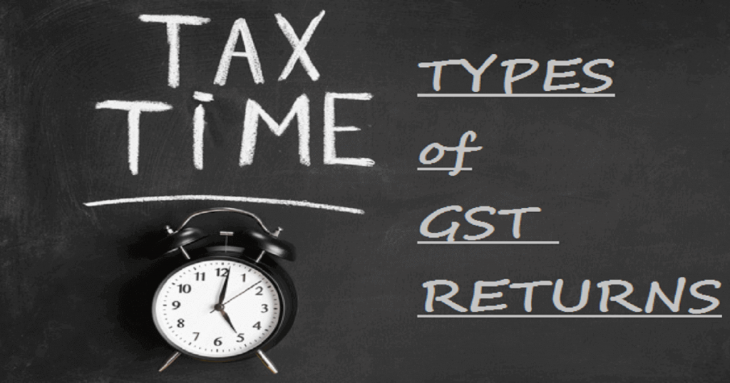 GST Returns types