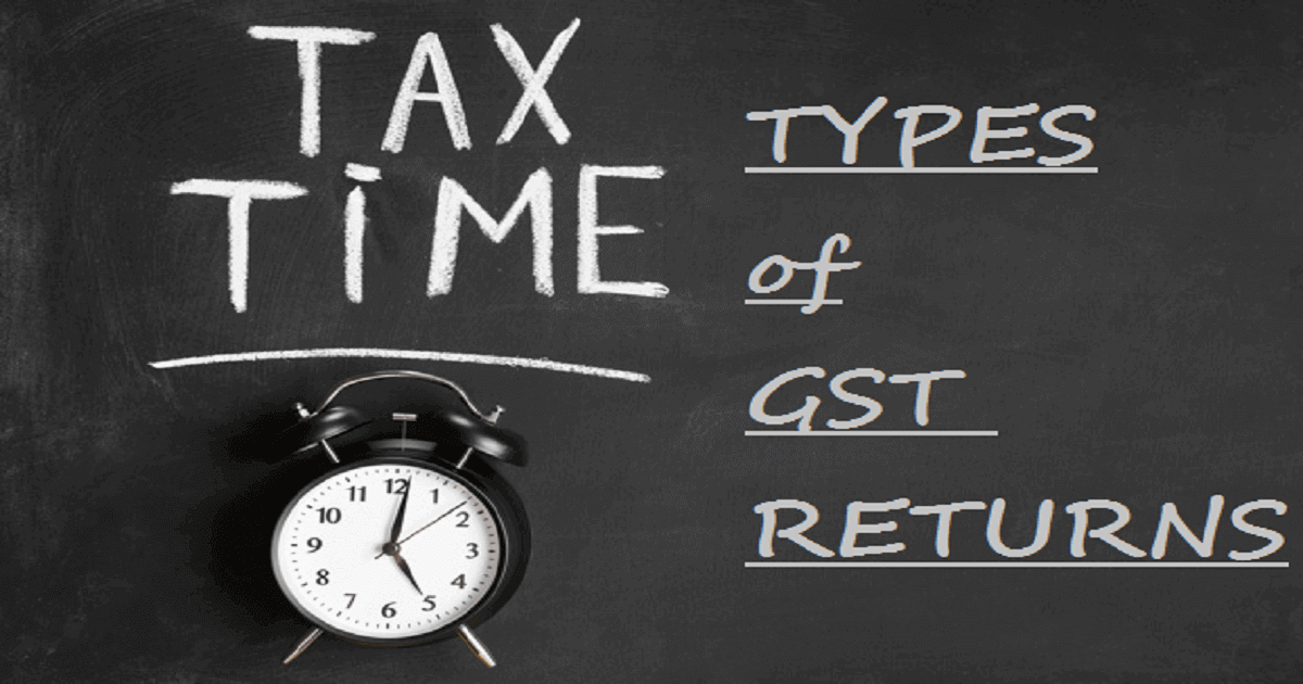Types of GST Return in India: A Complete Overview