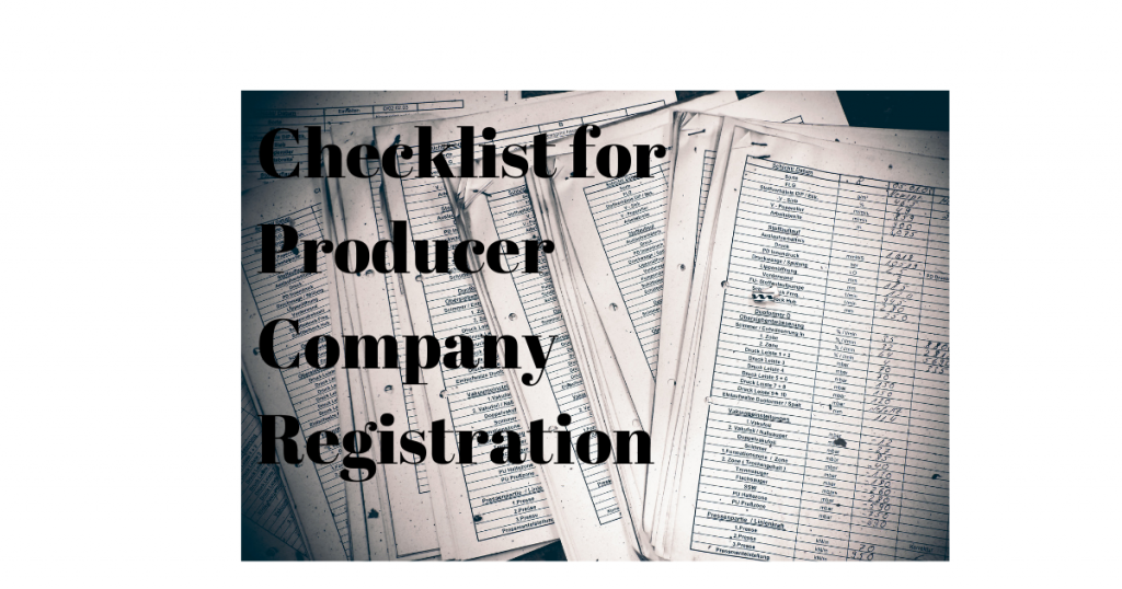 documents required for producer company