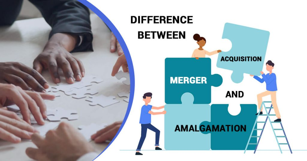 What is the difference between Merger, Acquisition, and Amalgamation?