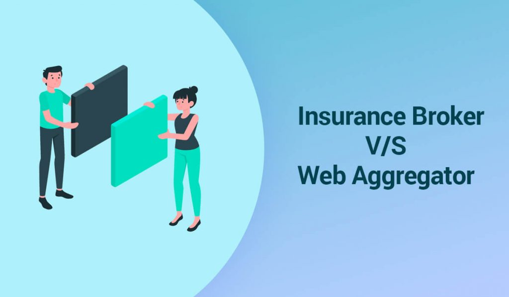 What are the Differences Between Insurance Broker and Web Aggregator?