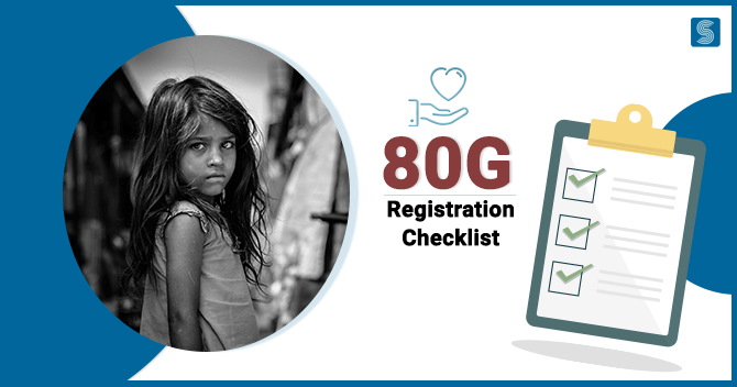 Checklist and Requirements for 80G Registration