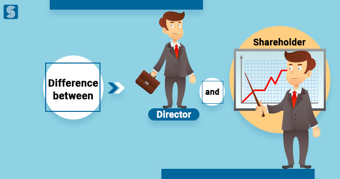 What is the Difference between Director and Shareholder?