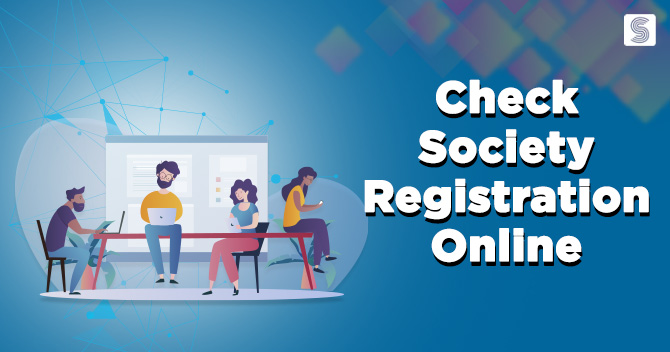 How to check Online Society Registration?