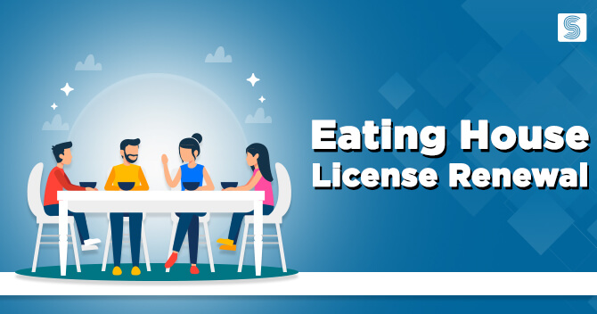 How to Renew Eating House License Online?