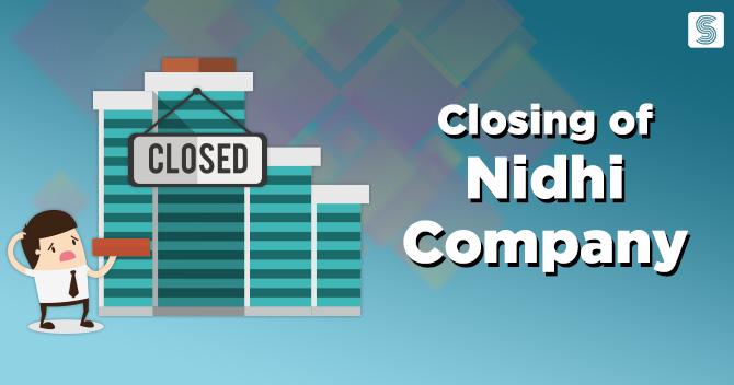 Closing of a Nidhi Company