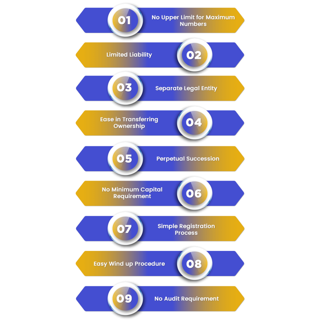 Benefits of LLP