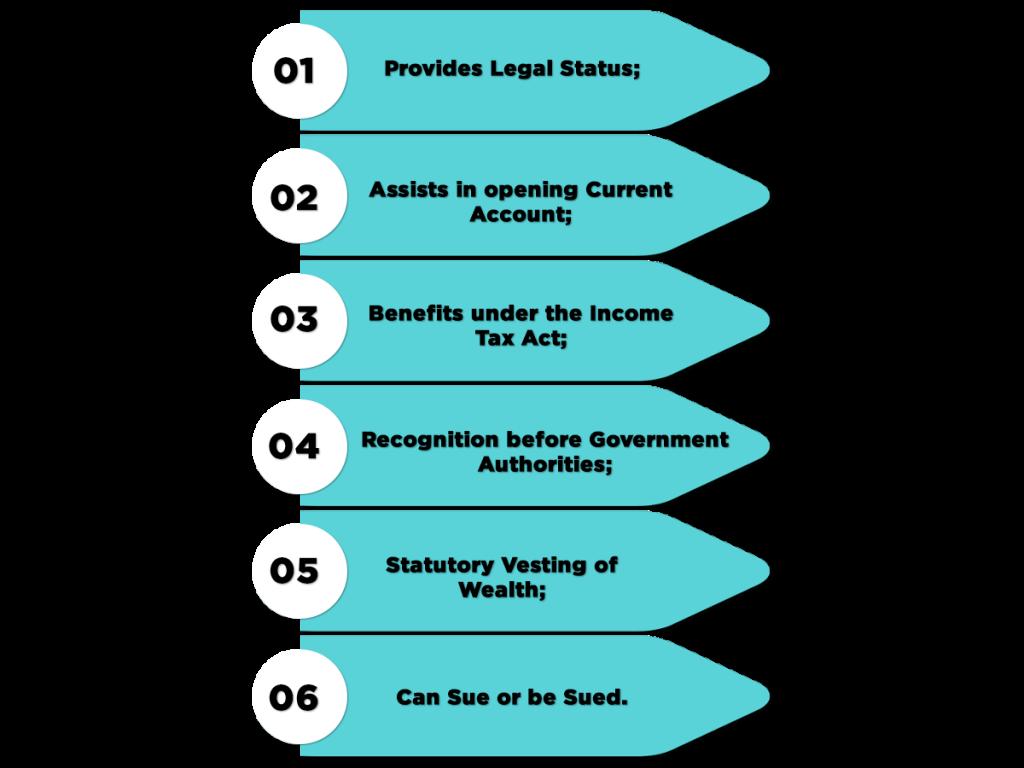 Benefits of school society registrations