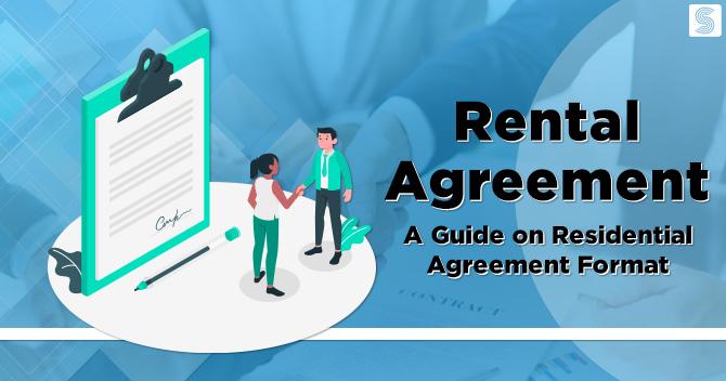 Residential Agreement Format