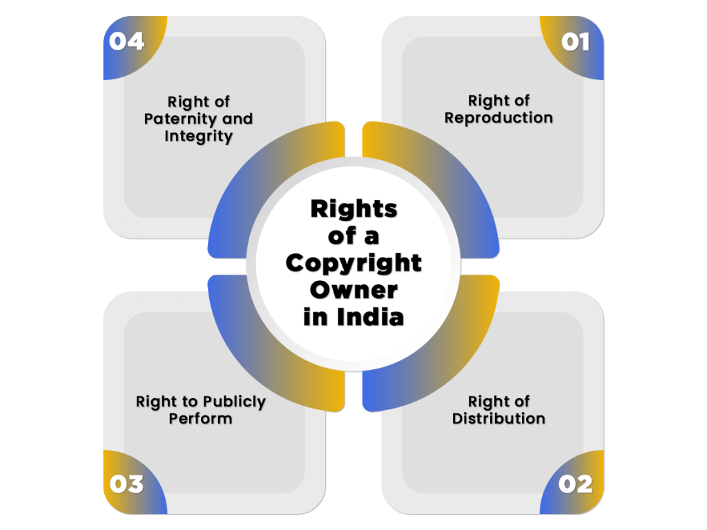 Rights of a Copyright Owner
