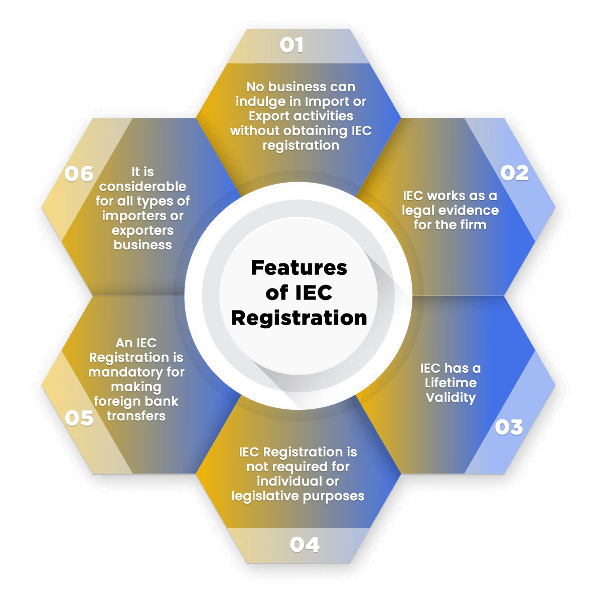 Features of IEC