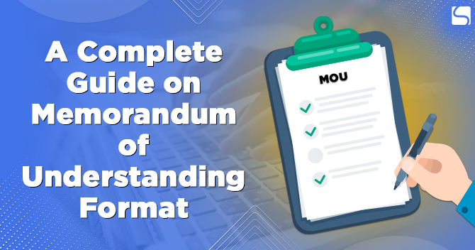 Guide on MOU Format