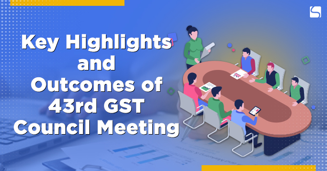 43rd GST Council Meeting