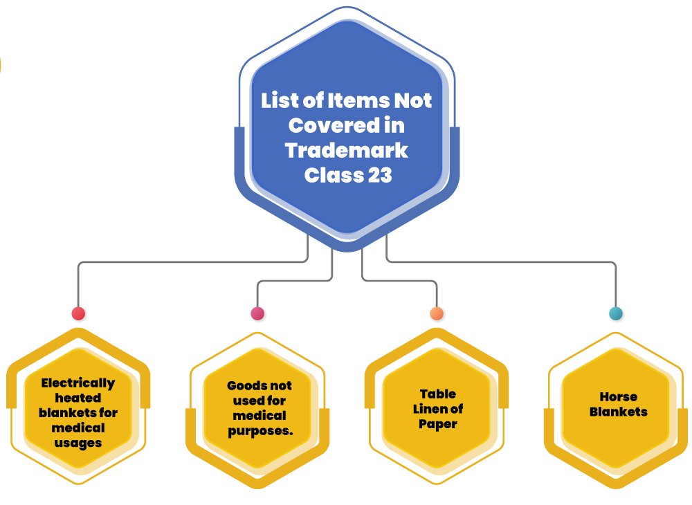 TM Class 23 items excluded