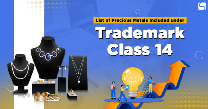 Items included in trademark class 14