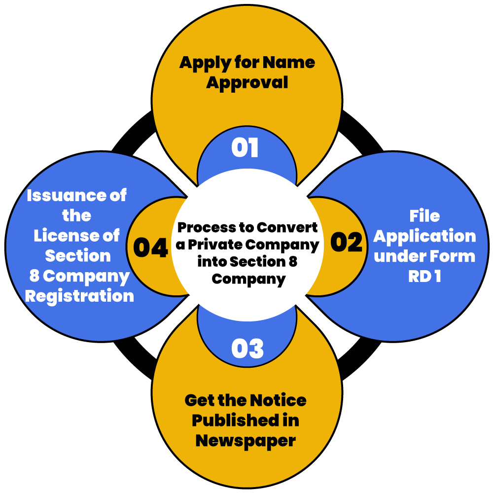 Process to Convert a Private into Section 8 Company