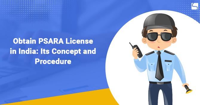 PSARA license India concept and procedure