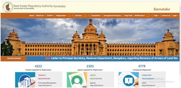 RERA Official Website Karnataka