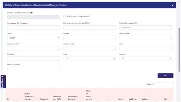 Fill IEC Registration Form