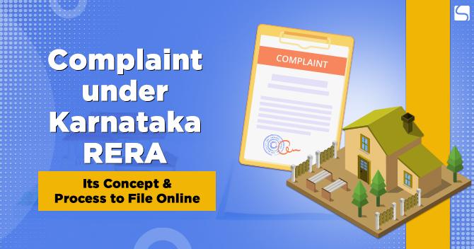 Complaint under Karnataka RERA