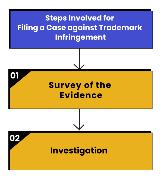 Infringement Steps for Filing Case