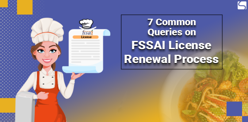 FSSAI License Renewal Process